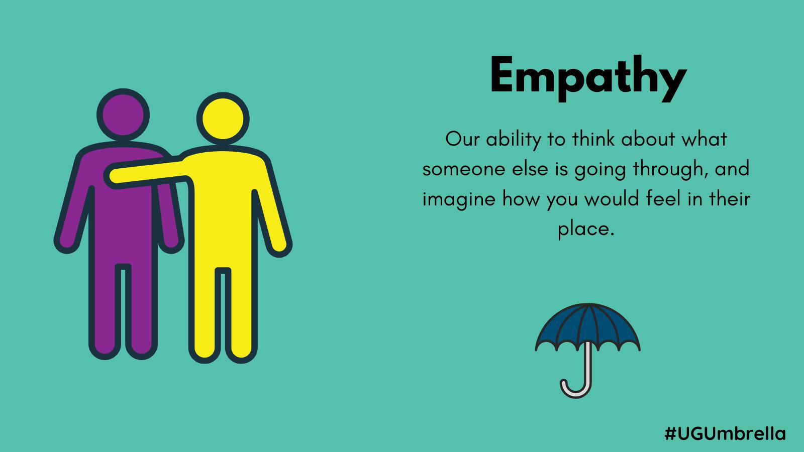 December Umbrella Project Photo describing empathy