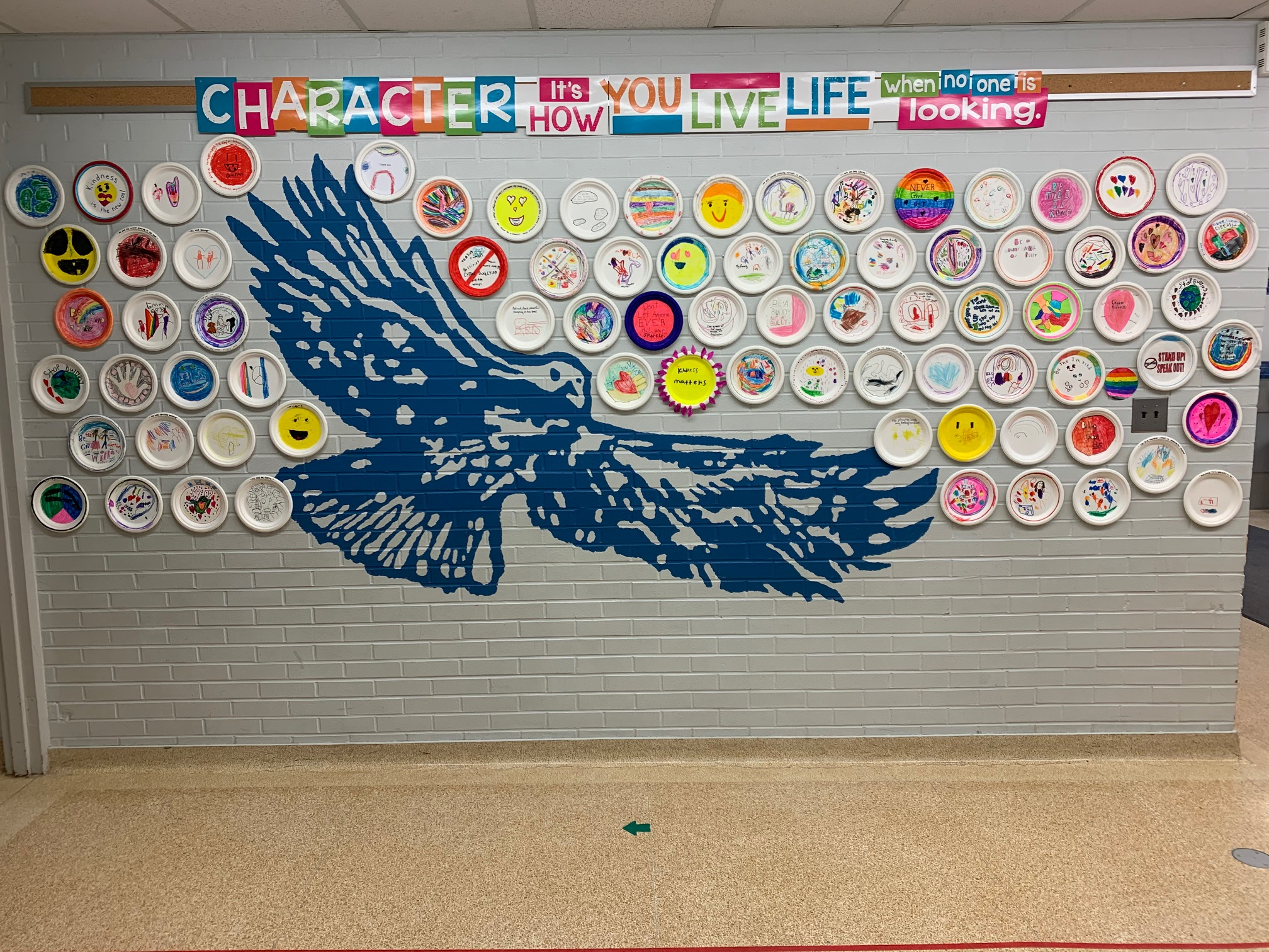 Ross R MacKay PS finished mosaic