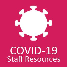 Staff Resources COVID Button
