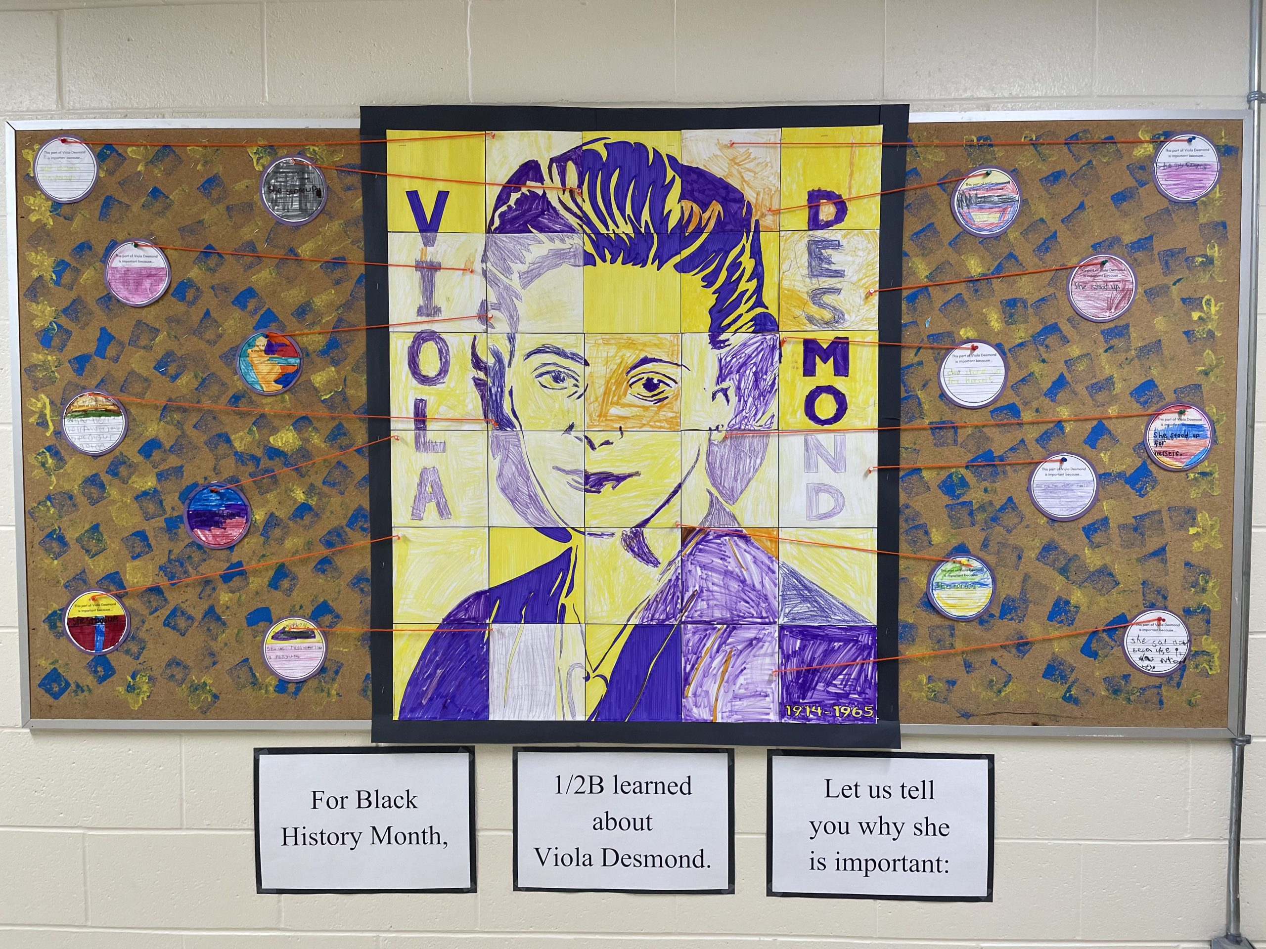Victoria Terrace PS Students Research And Pay Tribute To Viola Desmond (2)
