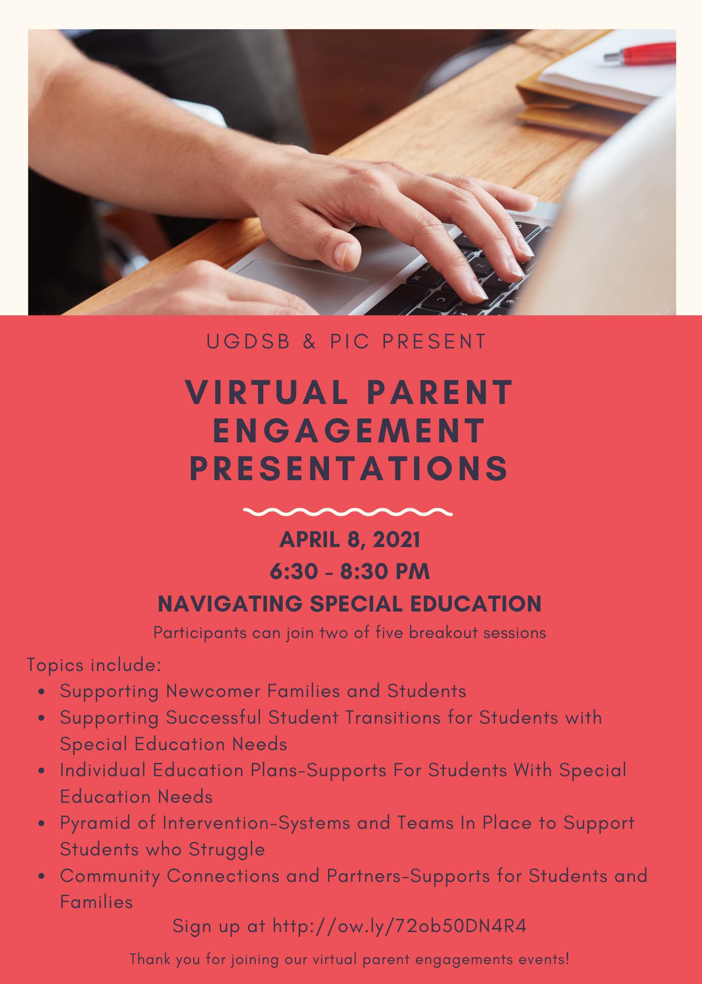 PIC Virtual Presentations 2021 April 8, 2021