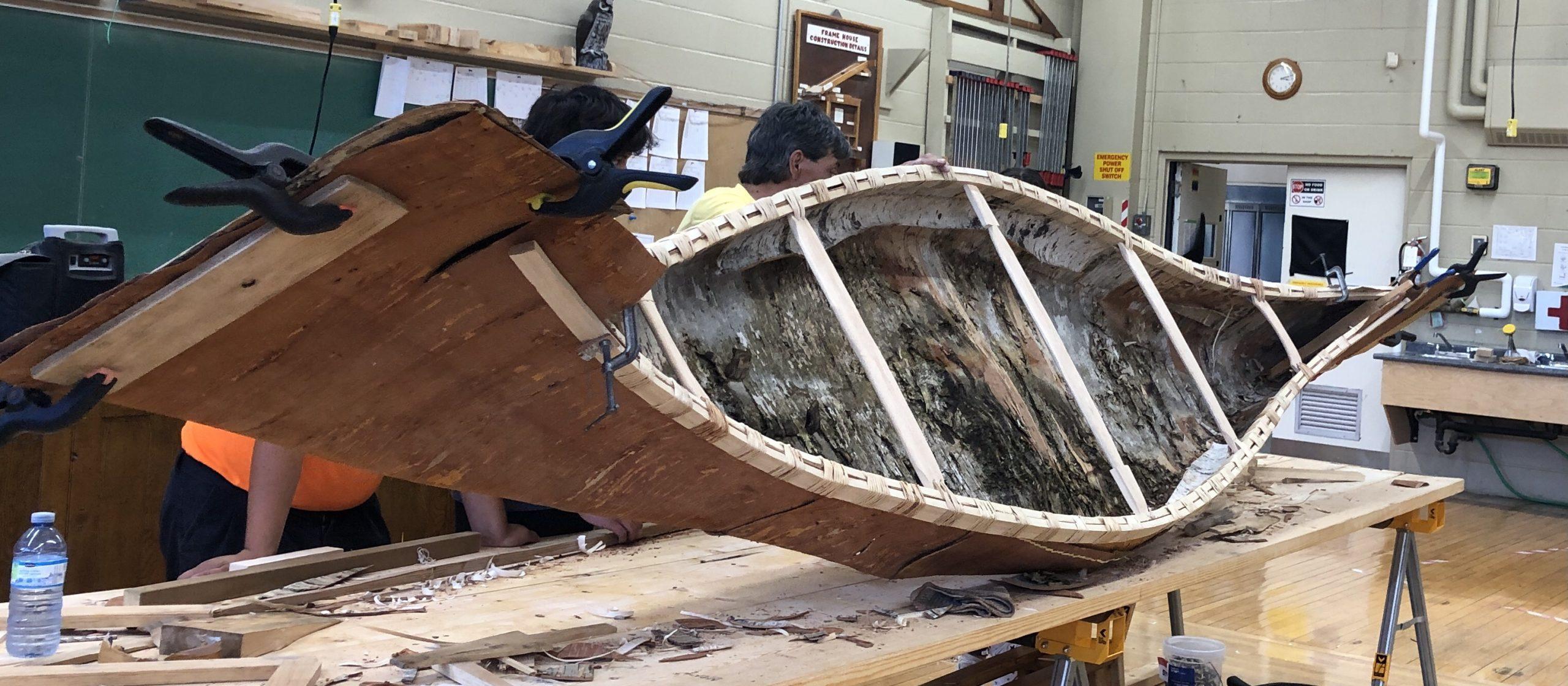 2021 Canoe Build