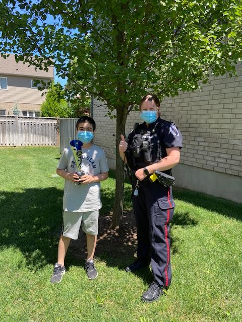 Westminster Woods PS student selected as Patroller of the Year 2
