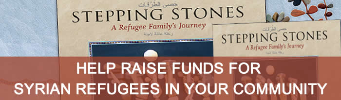 Stepping Stones Fundraiser - Help Refugees in your community