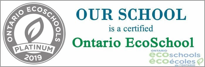 Our school won Platinum certificate for EcoSchool Program