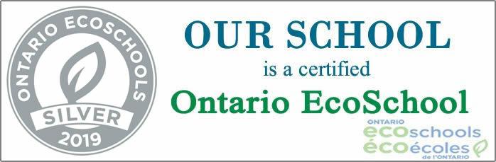 Our school won Silver certificate for EcoSchool Program