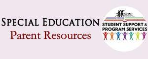 Special Education Parents Resources